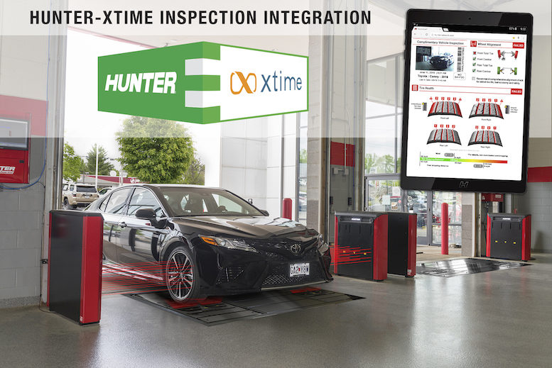Hunter Xtime Integration