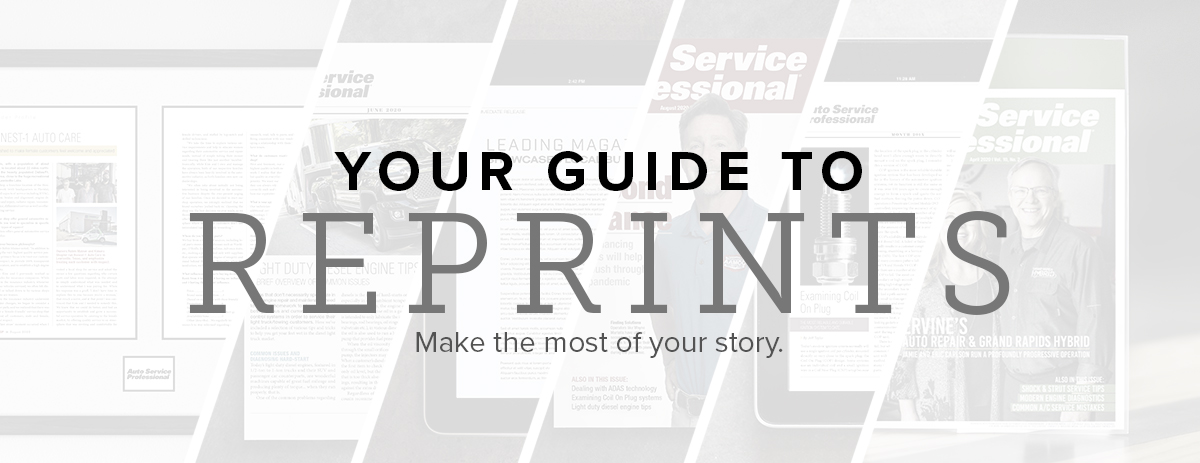 Your Guide To Reprints