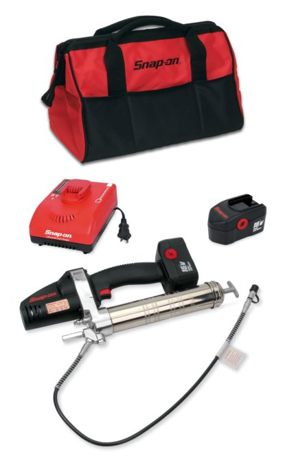 18-volt cordless grease gun from Snap-on