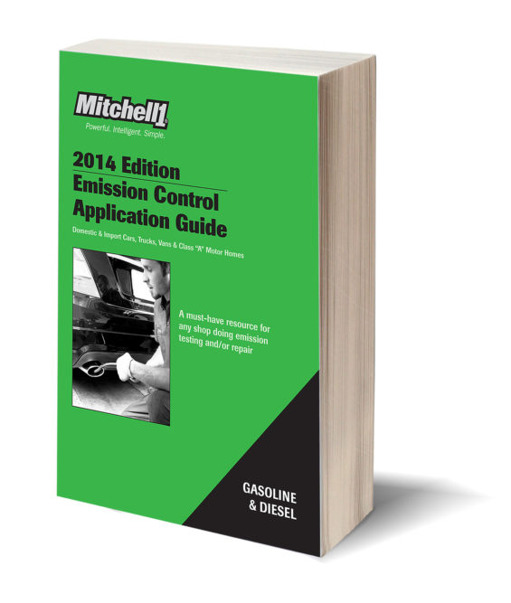 2014 Emission Control Application Guide available from Mitchell 1