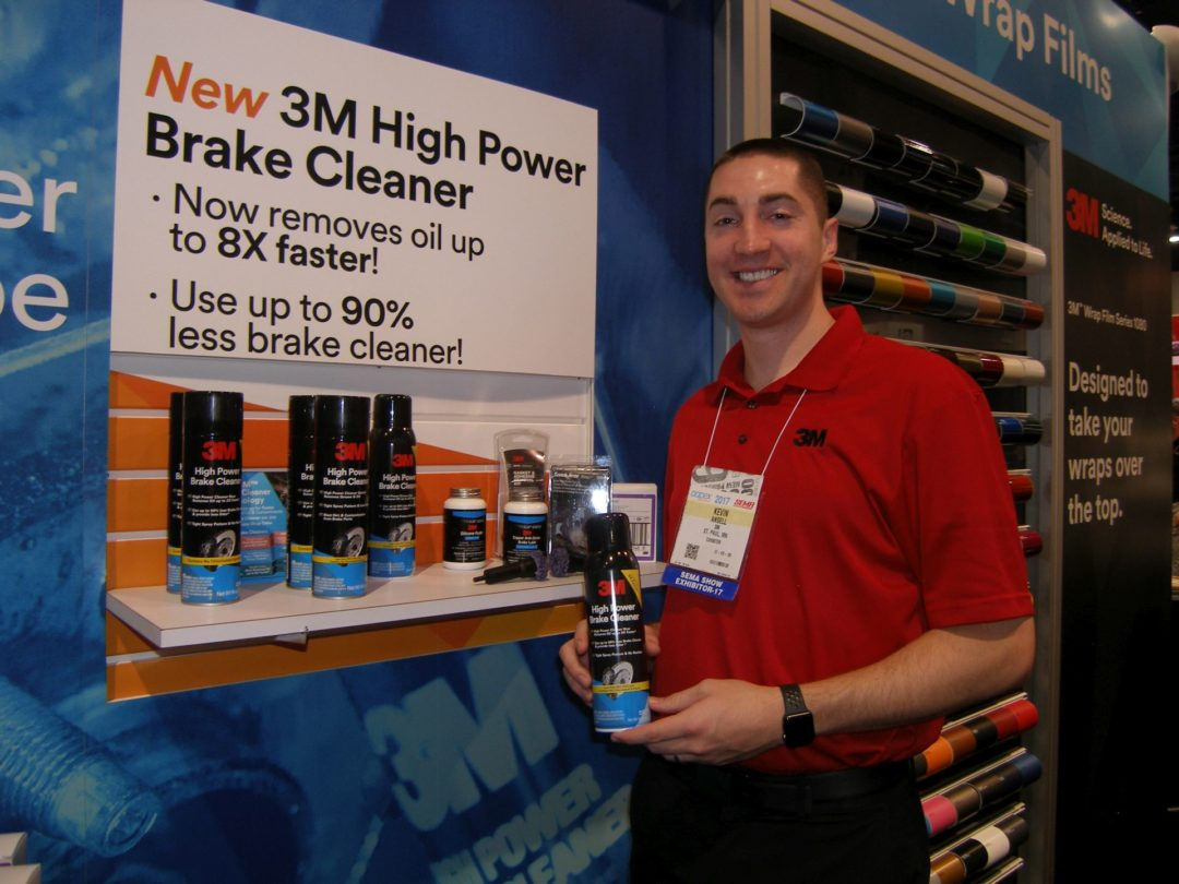 3M Auto Boosts Power of Brake Cleaner