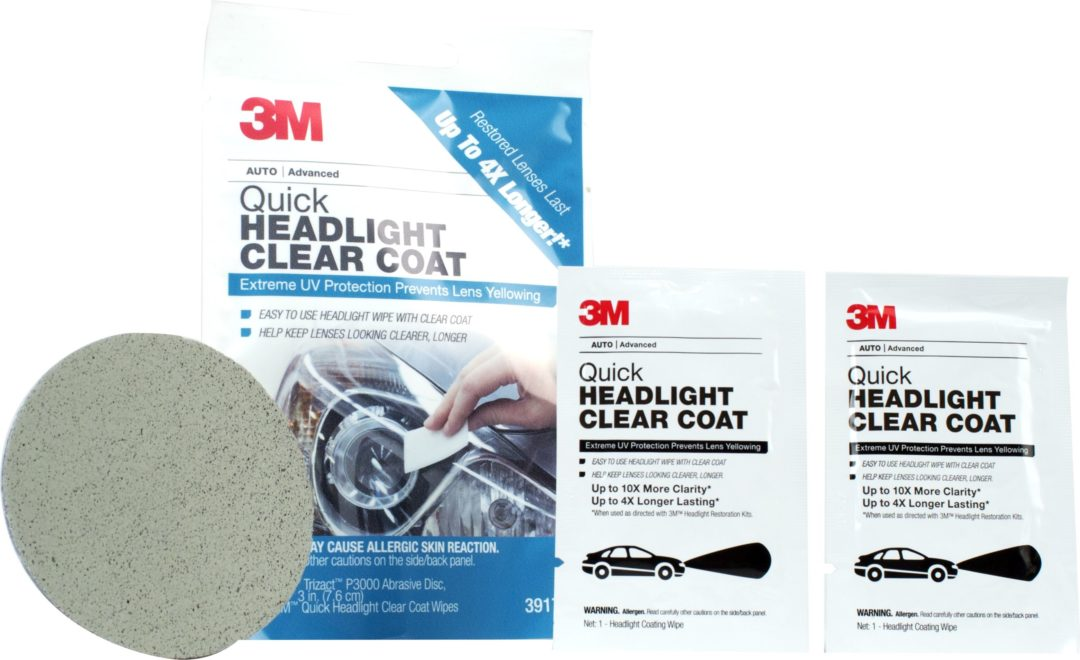 3M's New Headlight Wipe Offers UV Protection
