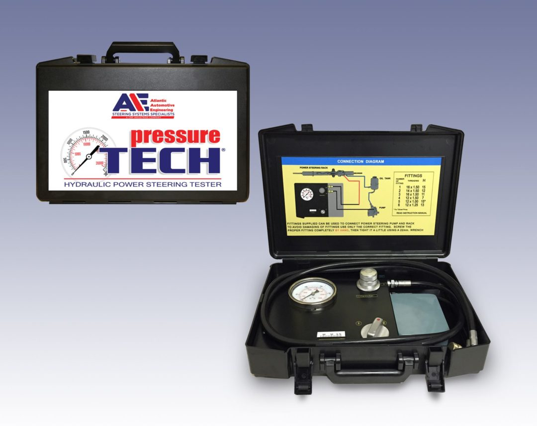 AAE's Power Steering Tester Diagnoses Component Failures Before Removal