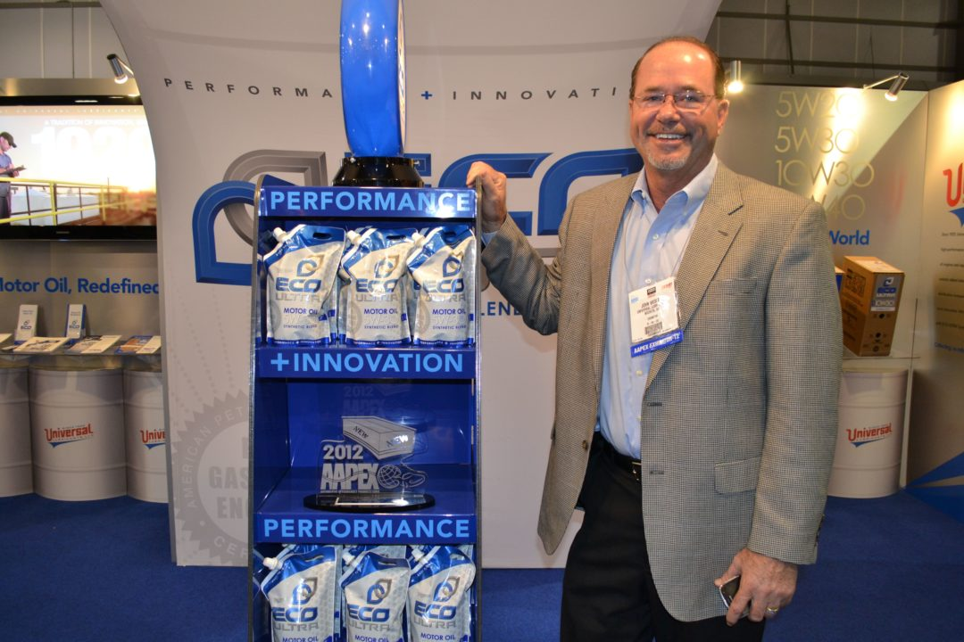 AAPEX 2012: Universal Lubricants has it in the bag