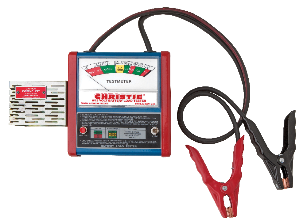 Accurate battery testing with Christie CT3 from Clore