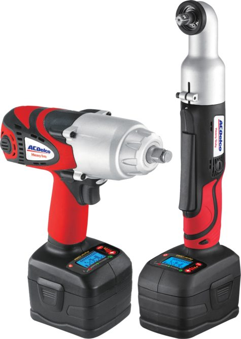 ACDelco adds impact wrenches to power tools line