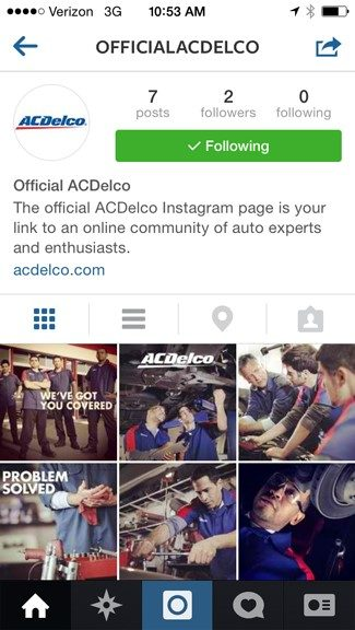 ACDelco adds Twitter, Instagram to its social circle