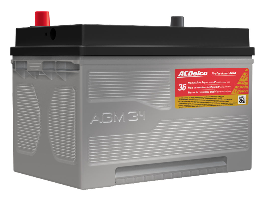 ACDelco expands Professional AGM battery lineup