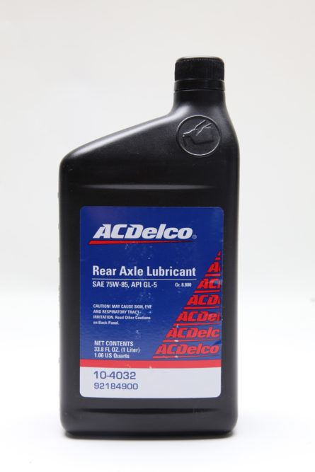 ACDelco introduces rear axle lubricant