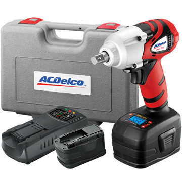 ACDelco-licensed tool line adds li-ion 18V impact wrench