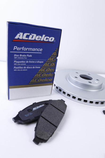 ACDelco offers brake pads and rotors for police cars
