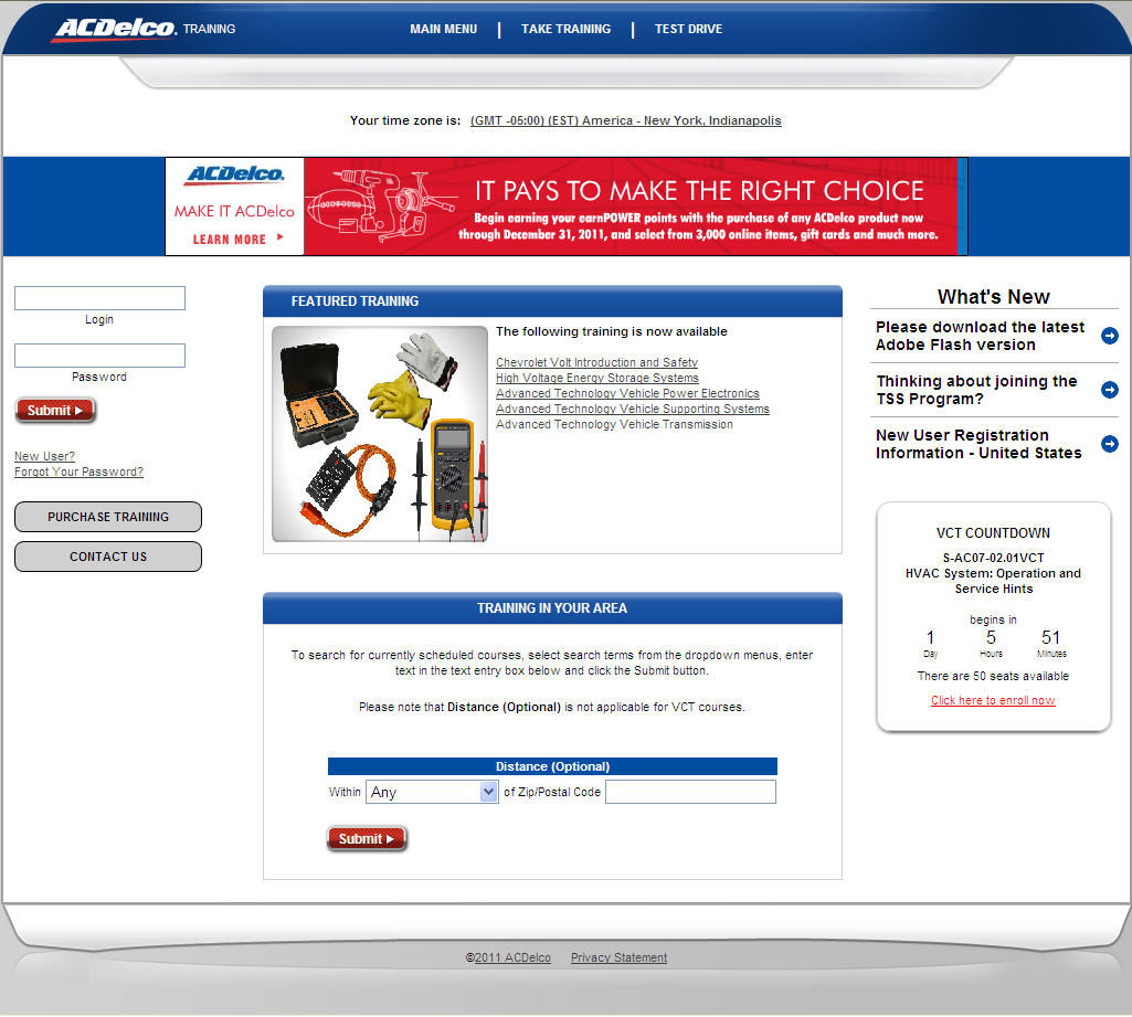 ACDelco revamps training website