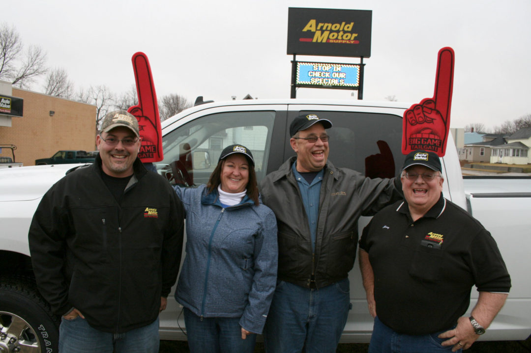 Aftermarket Auto Parts Alliance awards pickup truck