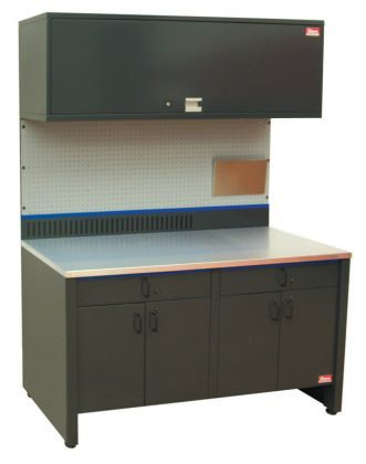 All-steel workcenters and workbenches from Shure