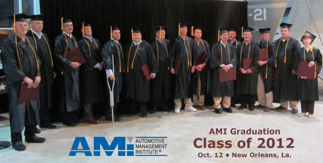 AMI graduates 19th class of Accredited Automotive Managers