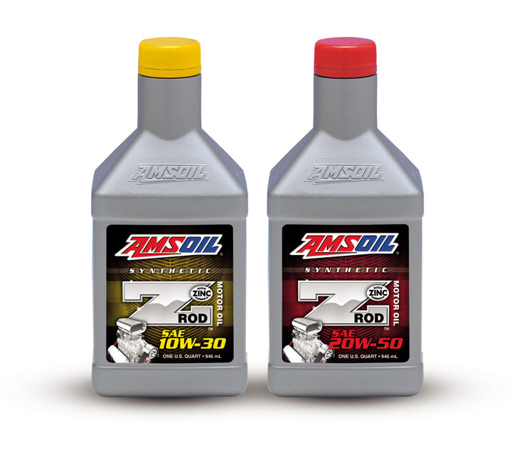 Amsoil debuts Z-ROD synthetic oil for classic cars