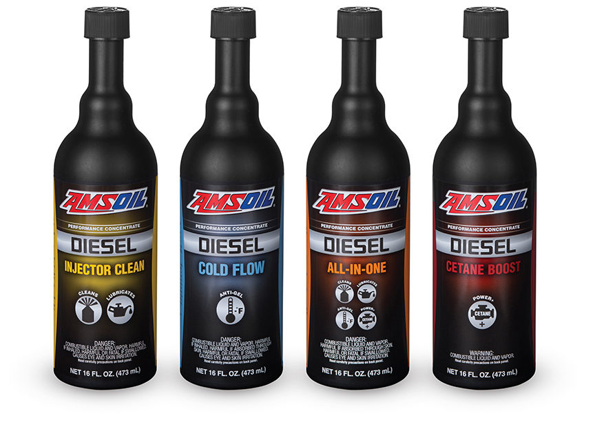 Amsoil Has New and Reformulated Diesel Fuel Additives