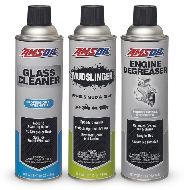 Amsoil Introduces 3 Aerosol Cleaning Articles