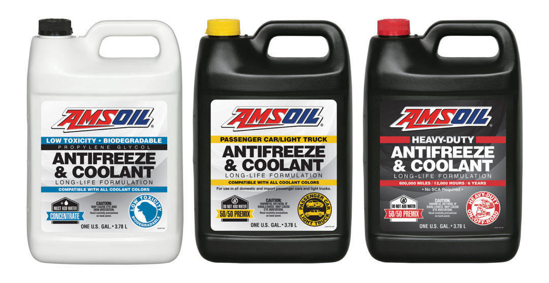 Amsoil launches expanded antifreeze and engine coolant Article line