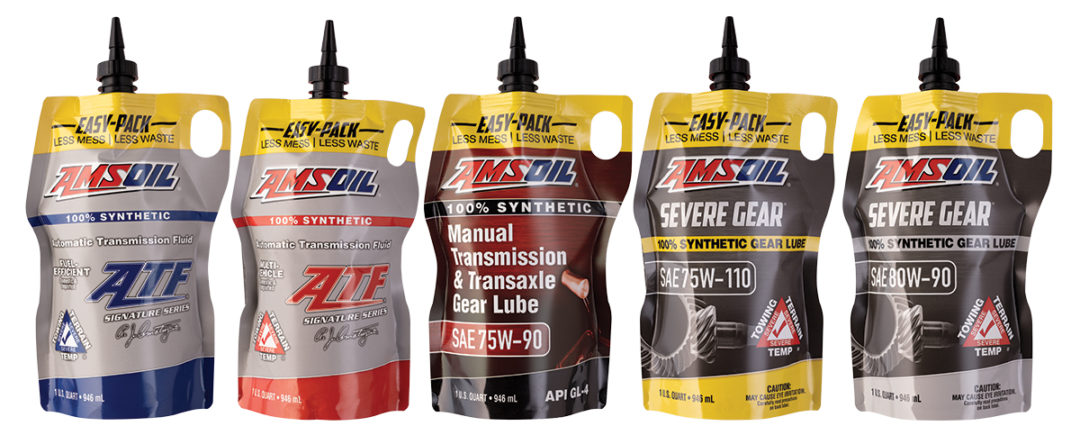 Amsoil Offers Five More Articles in Easy-Pack Packaging