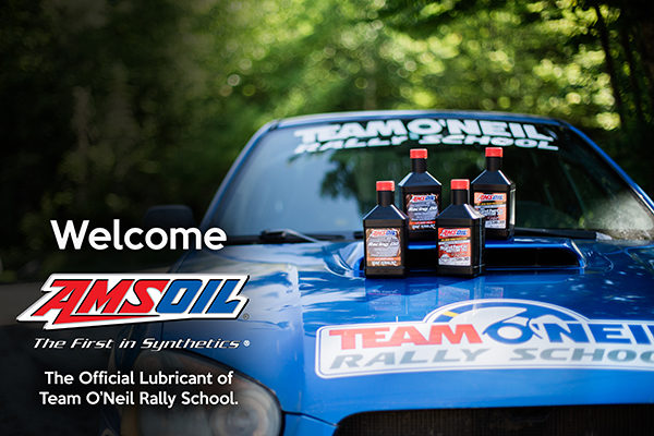 Amsoil Partners With Team O'Neil Rally School