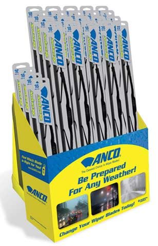 ANCO pre-pack wiper blade assortments