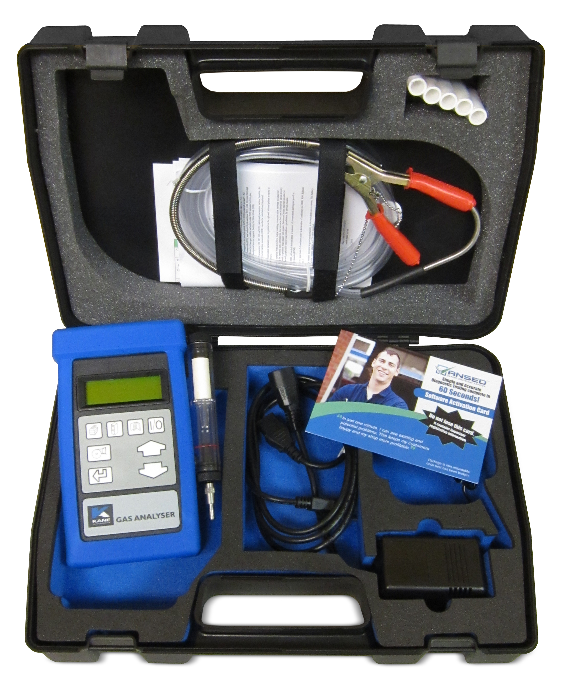 ANSED Diagnostic Solutions Kits diagnose in 60 seconds