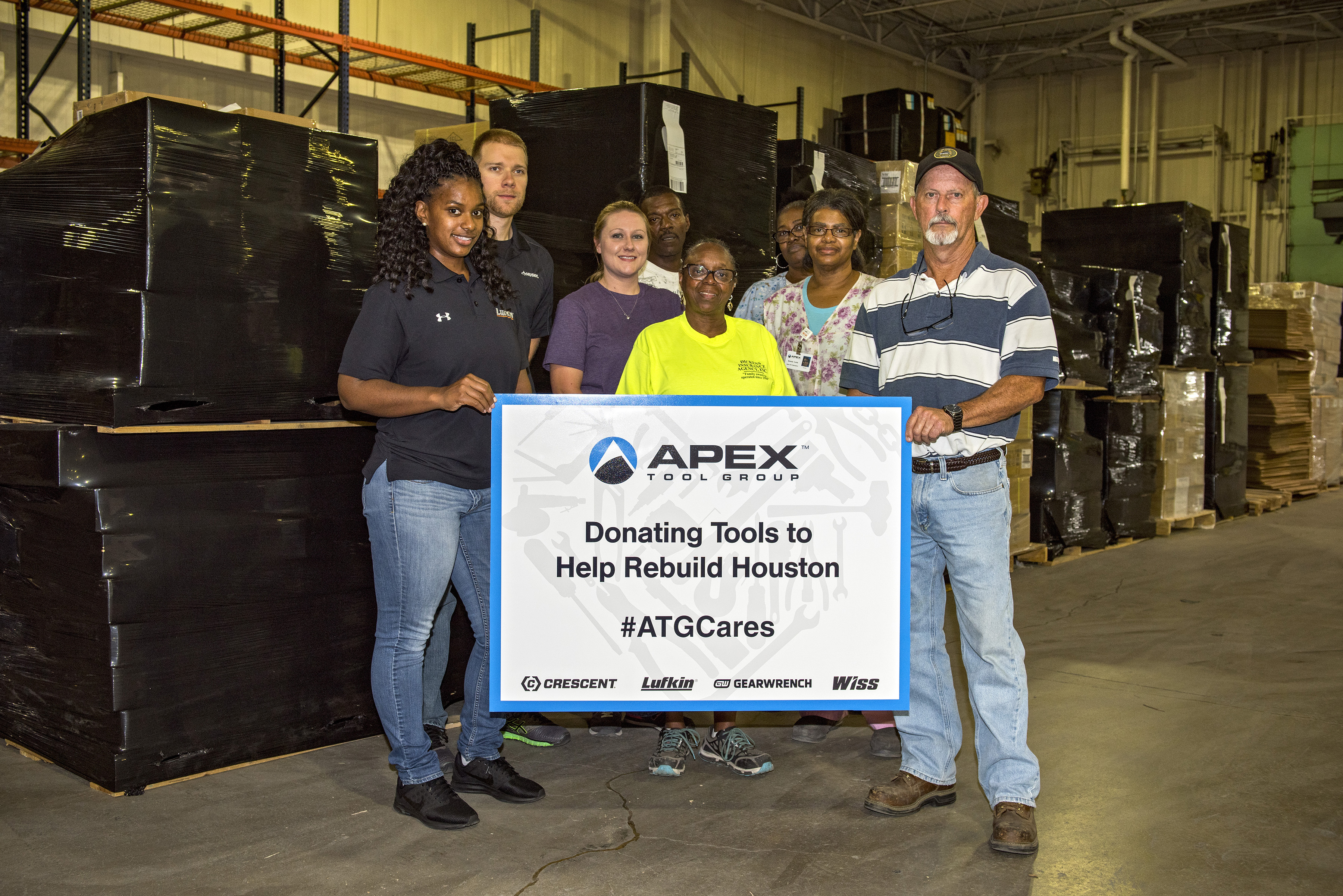 Apex Tool Group Offers Tools and Warehouse Space to Help Hurricane Victims