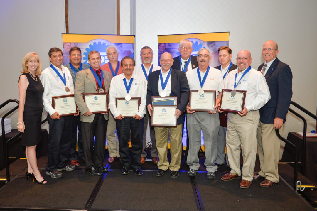 ASE Industry Education Alliance honors automotive instructors