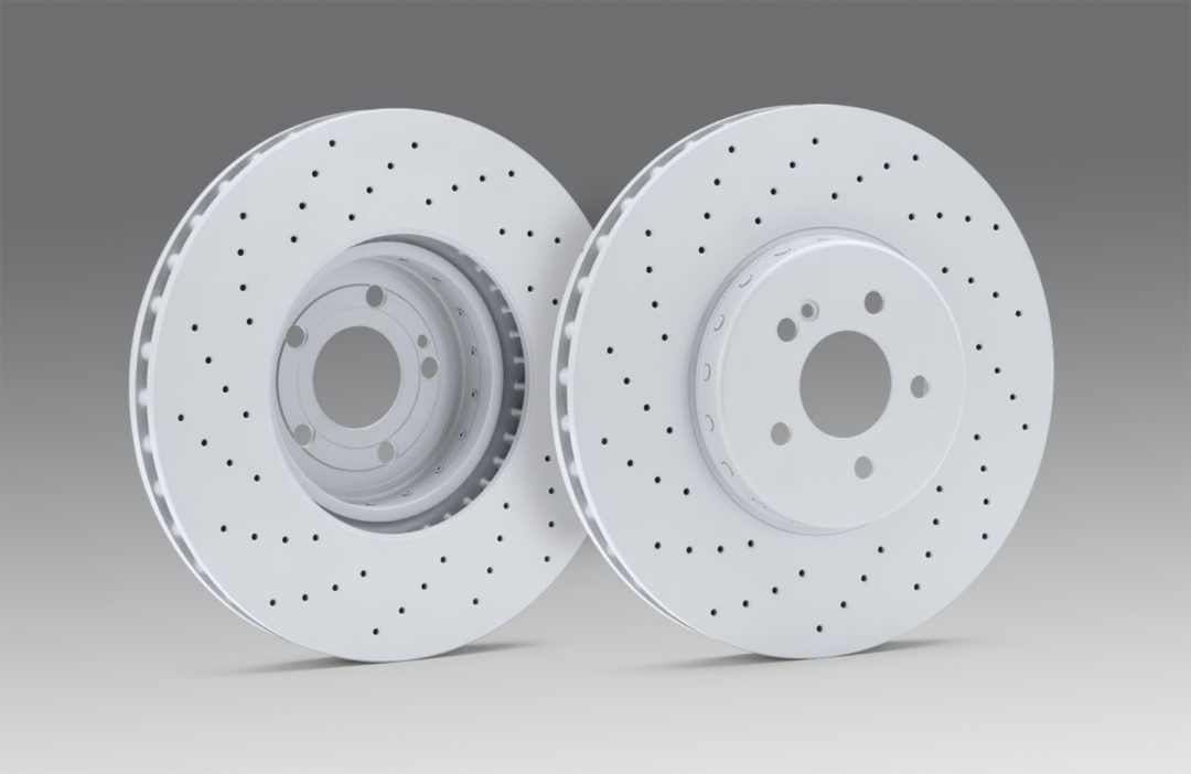 Ate Brand Two-Piece Disc Brake Rotor Is Certified for Mercedes-Benz