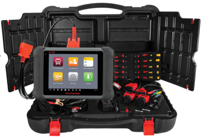 Autel Adds Heavy-Duty Service Tablet to MaxiSys Line
