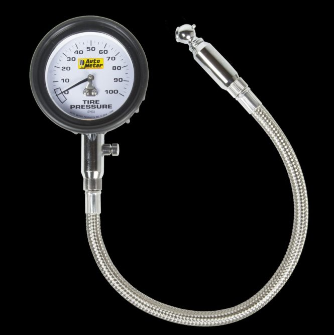 Auto Meter unveils tire gauge for heavy-duty applications
