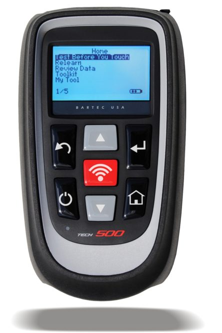 Bartec offers wireless updating for TPMS tool