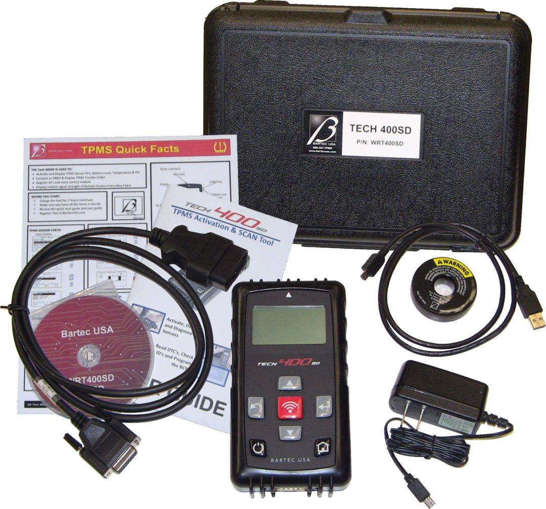 Bartec updates software to program aftermarket sensors with TPMS tool