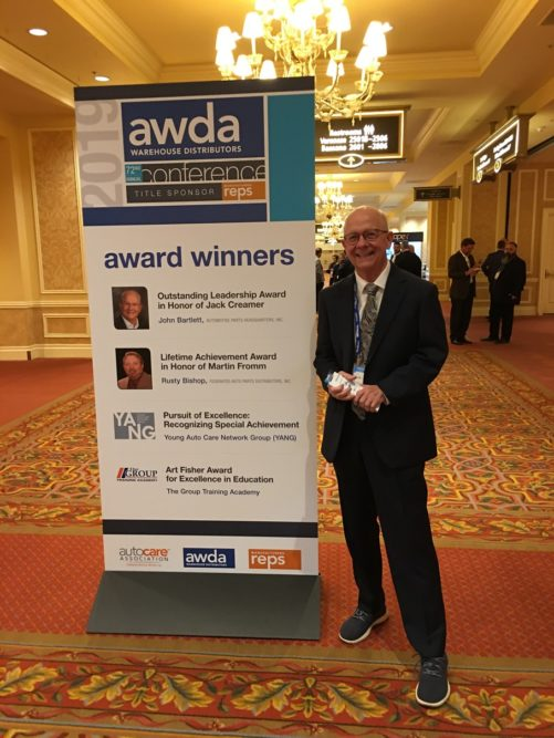 Bartlett Named Automotive Leader of the Year