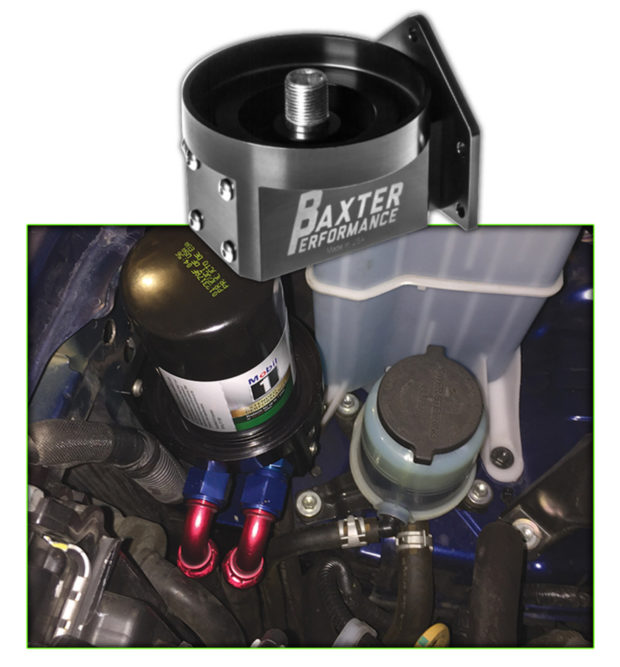 Baxter Offers Oil Filter Adapters for Ford, GM and Mopar