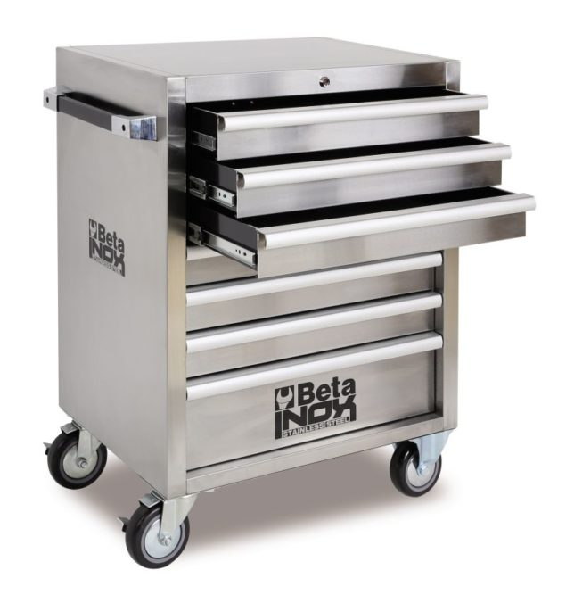 Beta Tools has new stainless steel roller cabinet