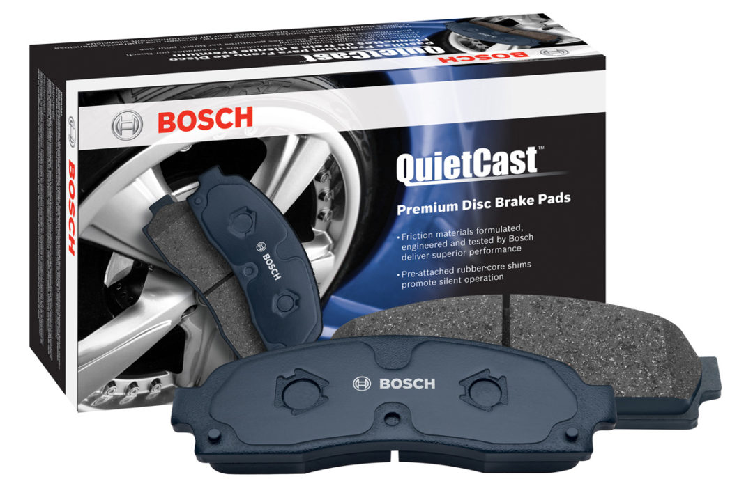 Bosch adds to QuietCast and Bosch Blue brake pad lines