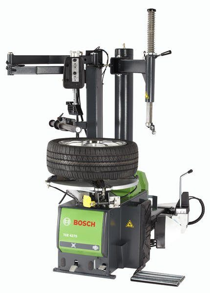 Bosch Debuts Swing Arm Air Motor Turntable Tire Changer