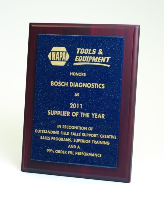 Bosch Diagnostics is NAPA's Supplier of the Year