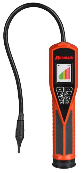 Bosch Introduces Robinair Dual Mode Tracer Gas Leak Detector