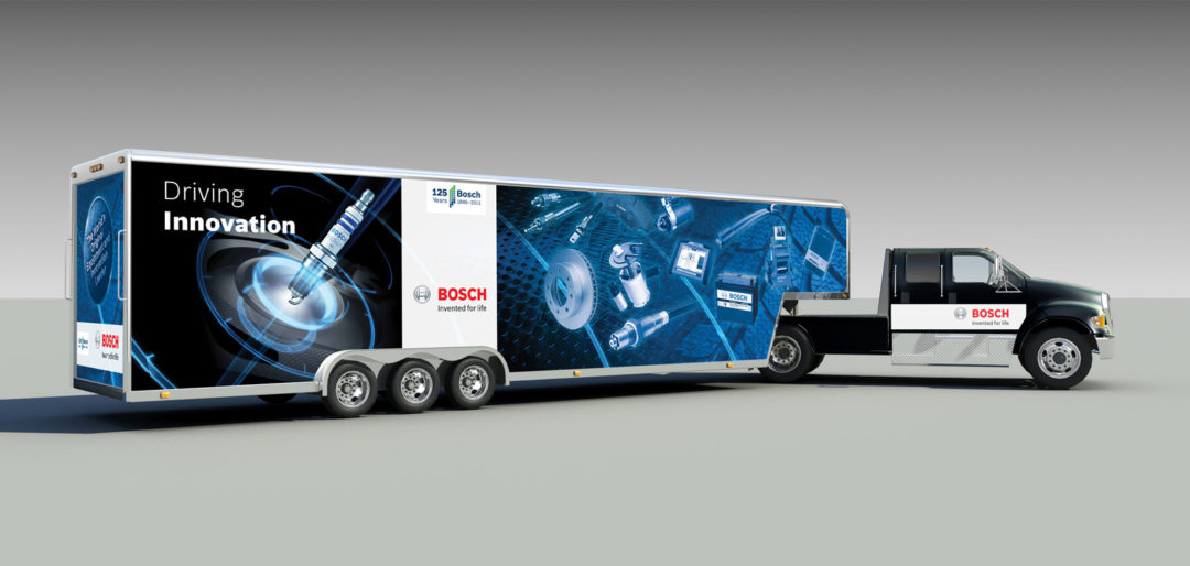 Bosch launches 'Driving Innovation' road tour