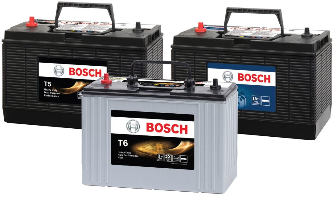 Bosch Launches Heavy-Duty Battery Line For Commercial Vehicle Applications