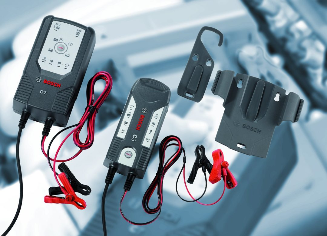 Bosch offers new compact battery chargers