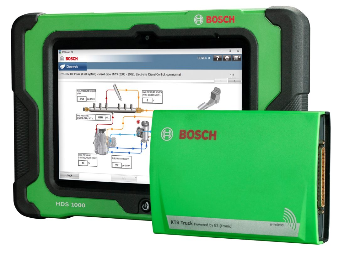 Bosch Releases Software Update for ESI[truck]