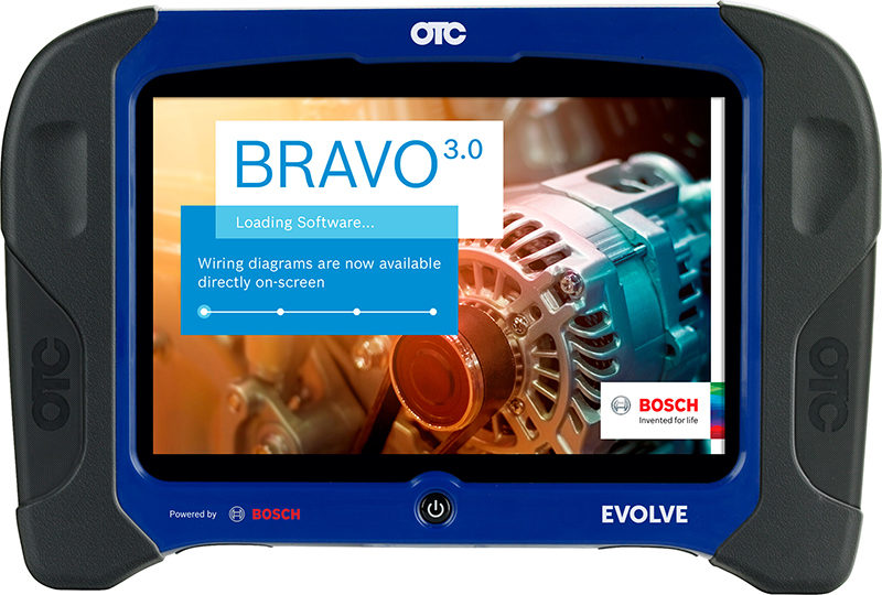 Bosch's New Evolve Tablet Diagnoses More Than 25,000 Vehicle Systems