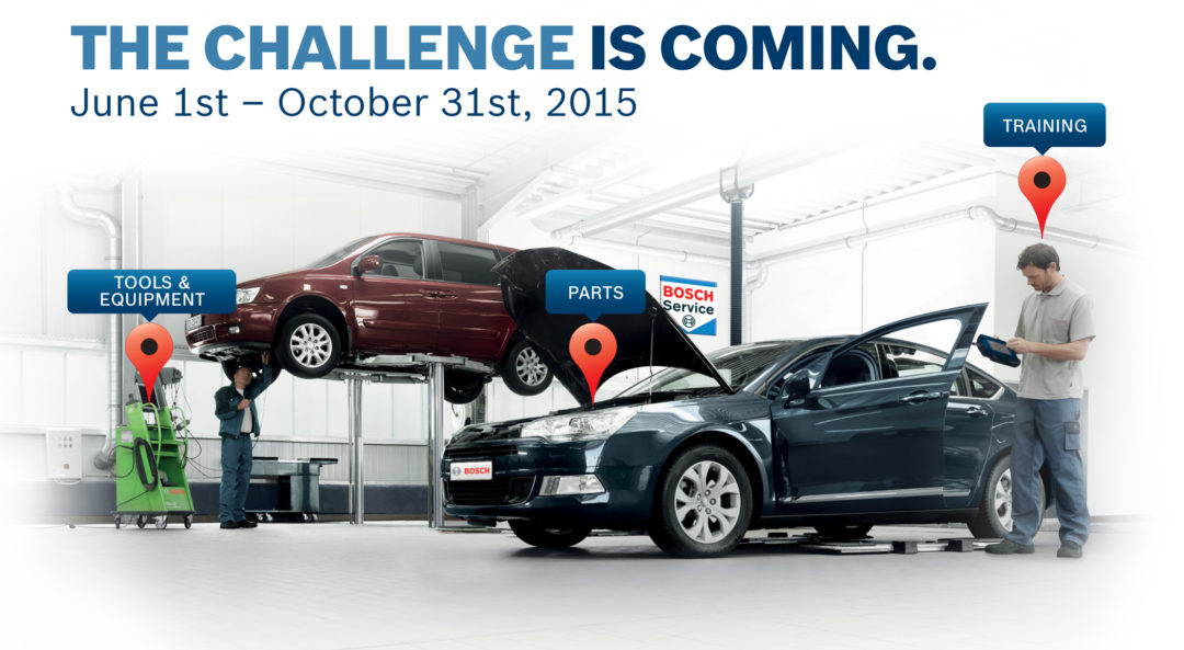 Bosch Xperience Mobile Tour 2015 brings training to the technician