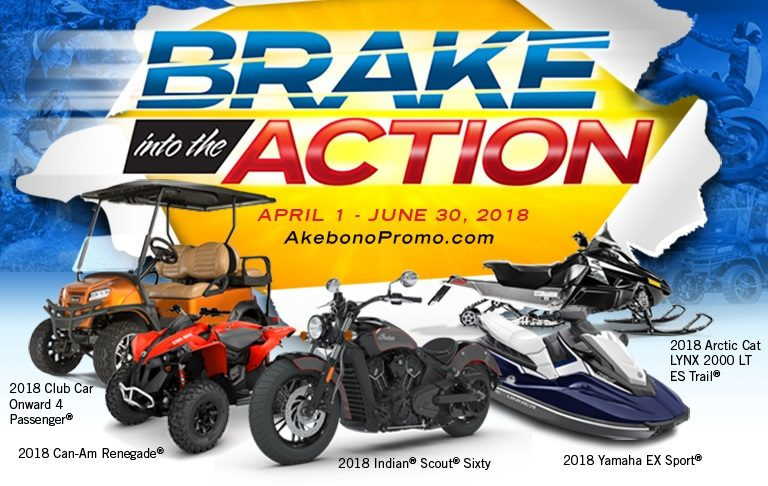 'Brake into the Action' with Akebono's Promotion