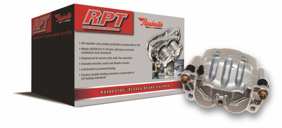 Brake Parts Introduces Raybestos RPT Plated Brake Calipers