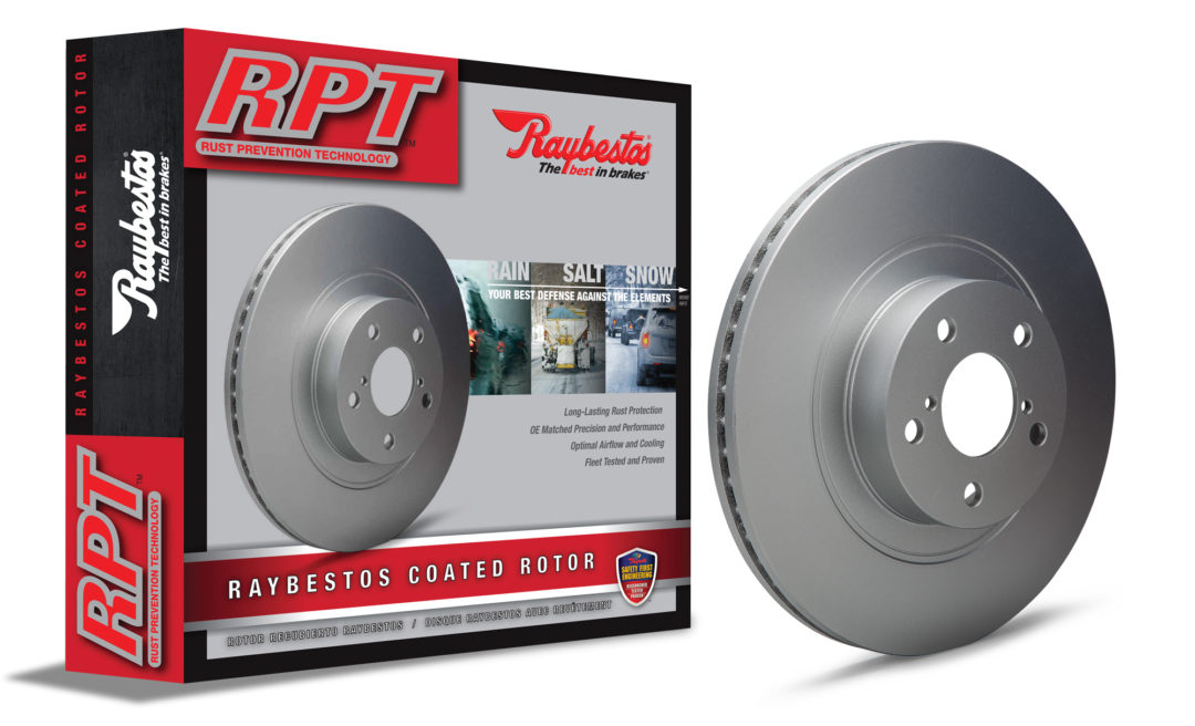 Brake Parts Introduces RPT Rust Prevention Technology Rotors